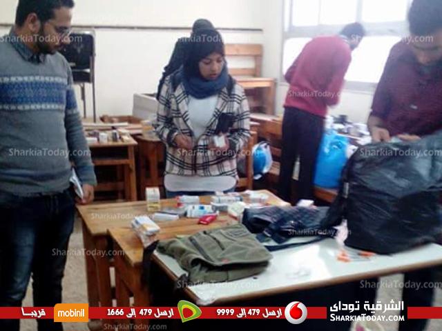 فريق صيدلي الخير ينظم قافلة طبيبة بقرية بني صالح ببلبيس (2)