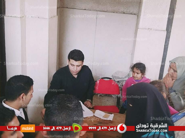 فريق صيدلي الخير ينظم قافلة طبيبة بقرية بني صالح ببلبيس (4)