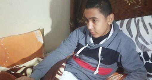محمد السيد جمعان - الطالب المصاب
