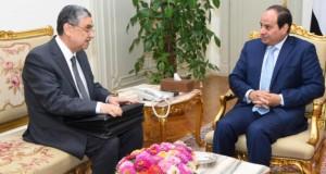 السيسى يبحث مع وزير الكهرباء مشروعات الوزارة والاستعداد لفصل الصيف