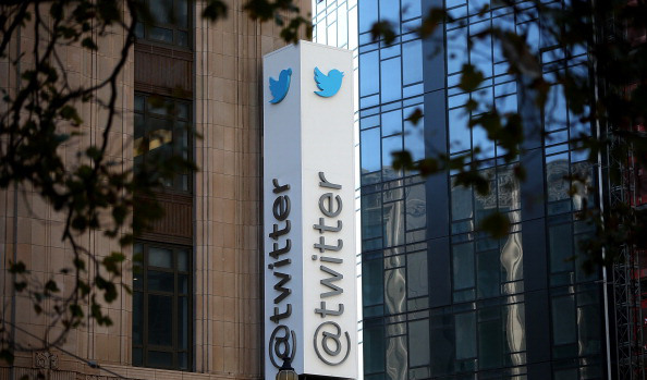SAN FRANCISCO, CA - OCTOBER 25: A sign is posted outside of the Twitter headquarters on October 25, 2013 in San Francisco, California. Twitter announced that it has set a price range for its initial public offering between $17 and $20 per share and hopes to sell 70 million shares. (Photo by Justin Sullivan/Getty Images)