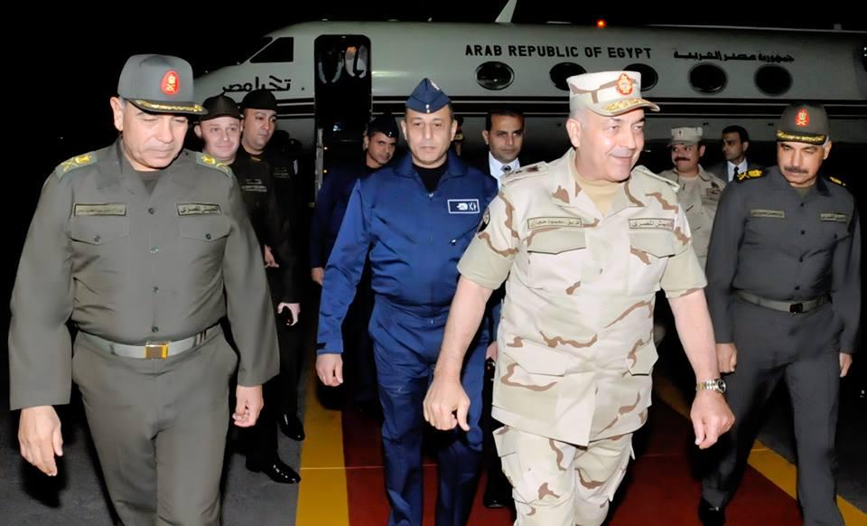 حجازى يعود إلى أرض الوطن بعد حضور فعاليات رعد الشمال