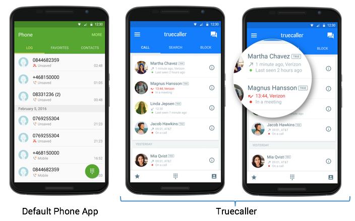 Default-Phone-App-vs.-Truecaller