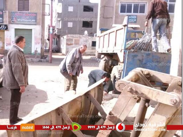 عملية هدم مبنى رئاسة مدينة صان الحجر (4)