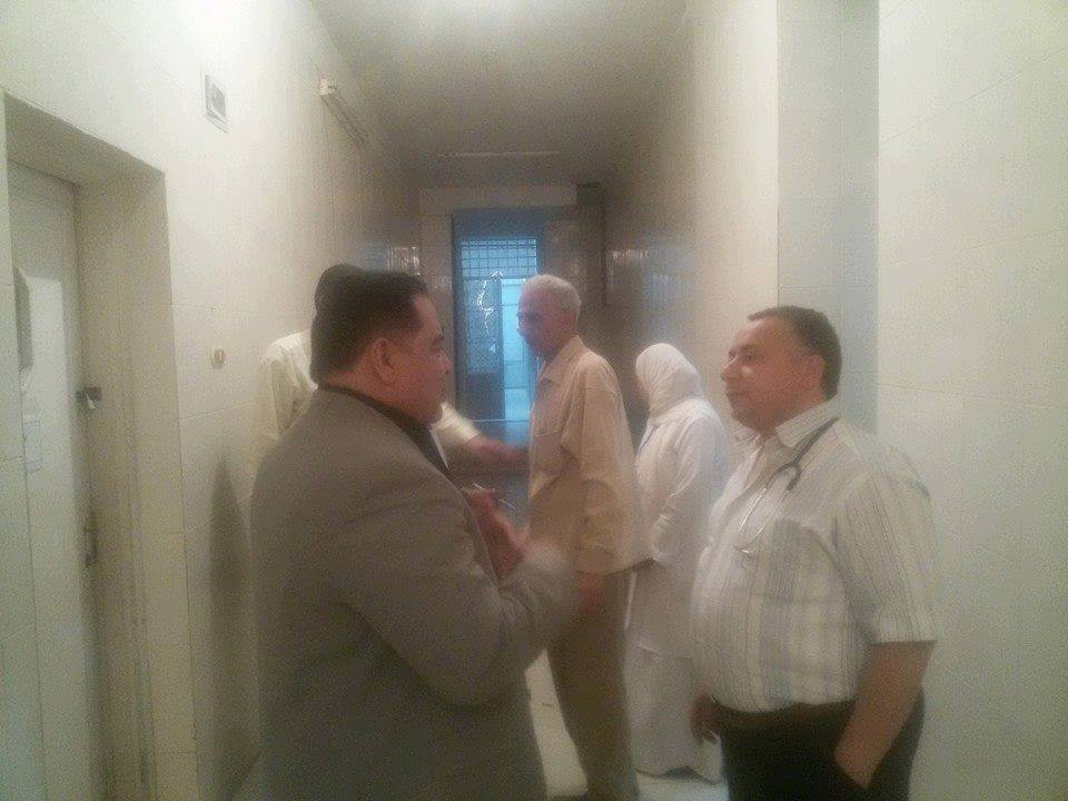 وكيل صحة الشرقية يحول ممرض بمستشفى حميات الزقازيق للشئون القانونية (9)