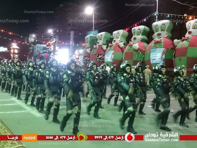 احتفالات محافظة الشرقية بـ 30 يونيو أمام الديوان العام (1)