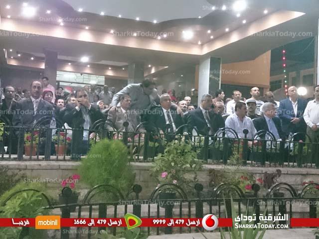 احتفالات محافظة الشرقية بـ 30 يونيو أمام الديوان العام (2)