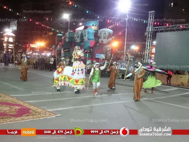 احتفالات محافظة الشرقية بـ 30 يونيو أمام الديوان العام (3)