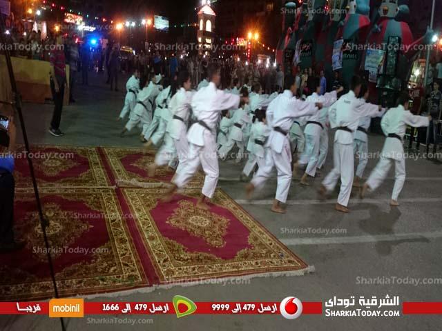 احتفالات محافظة الشرقية بـ 30 يونيو أمام الديوان العام (4)