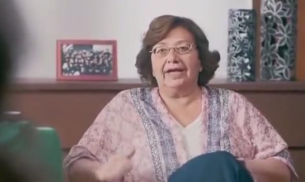 ليليان شارل - الام بطلة إعلان نستلة فروتس - أظرف أم في إعلانات رمضان