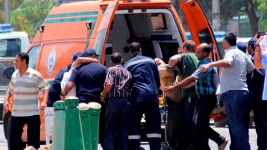 إصابة 4 أشخاص في حادث تصادم بالصالحية الجديدة