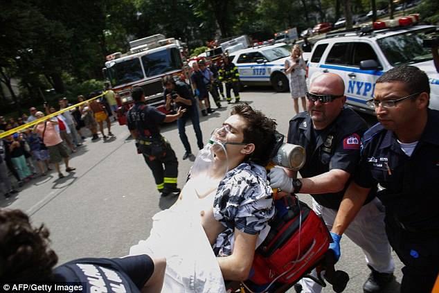 انفجار كبير يهز الحديقة المركزية بولاية #نيويورك الأمريكية (2)