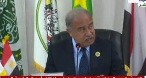 رئيس الوزراء يلقي كلمة السيسي في القمة العربية الظرف التاريخي يتطلب تكاتفنا