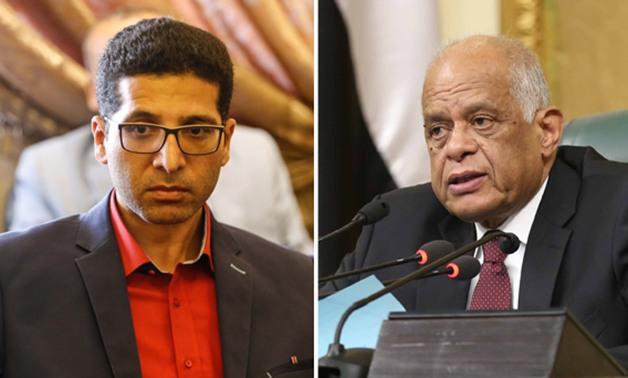 شد وجذب بين «عبد العال» و«الحريرى» بسبب تأجيل مناقشة المادة 16 من الخدمة المدنية
