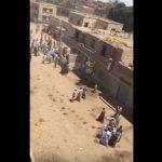 قبطية تصرخ اثناء قذفها بالحجارة ببنى سويف : هو ده دينكم