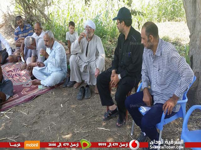مديرية الزراعة تتابع محصول الذرة الشامية بديرب نجم