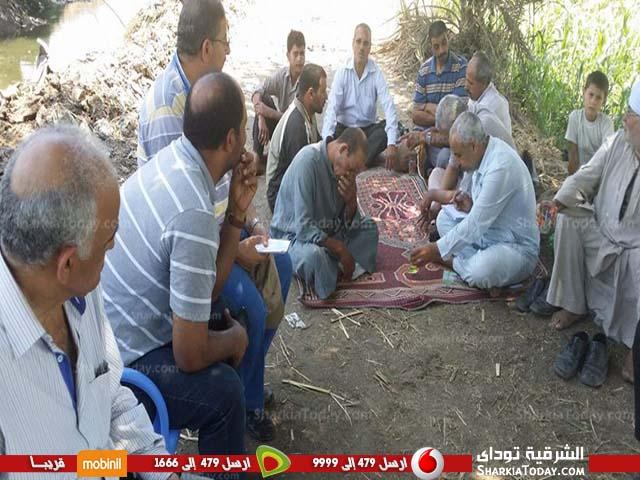 مديرية الزراعة تتابع محصول الذرة الشامية بديرب نجم1
