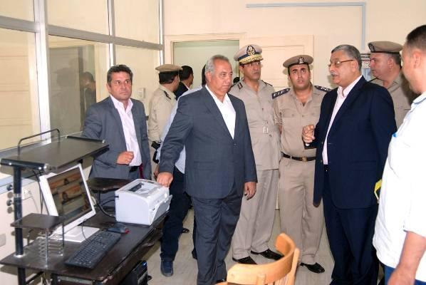 بالصور.. محافظ الشرقية يفتتح مبنى إدارة مرور أولاد صقر