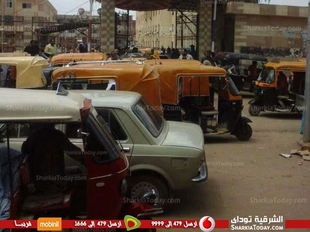 أهالي الحسينية يطالبون بالتواجد المروري بالشارع
