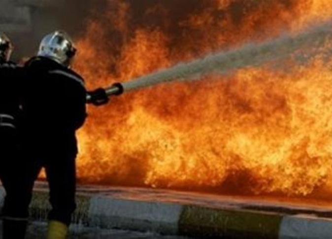 السيطرة على حريق في مصنع بعد تفحم كل المعدات بأبو حماد