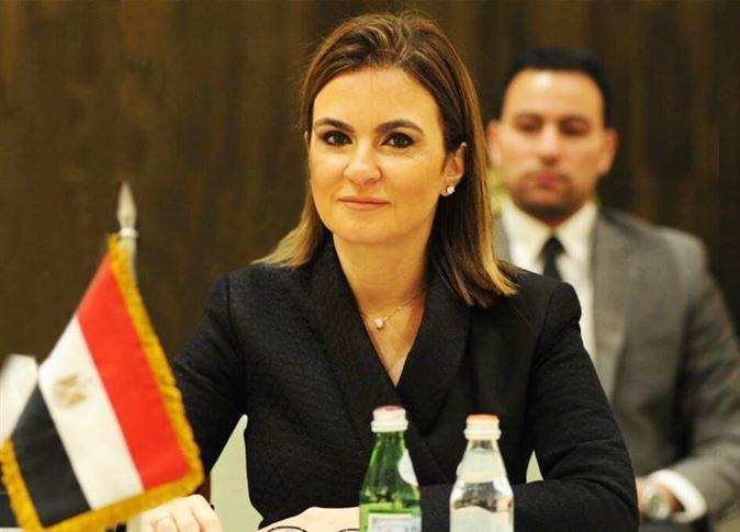 سحر نصر تبحث التعاون الاقتصادي المشترك مع سفيرة الكونغو بالقاهرة