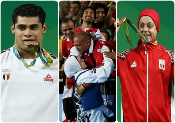 120 لاعبًا مصريًا في الأولمبياد والحصيلة 3 ميداليات