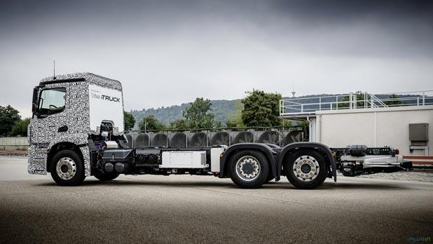 مرسيدس تنتج شاحنة صديقة للبيئة هي الأولى في العالم