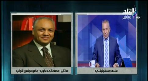 في تصريحات نارية.. مصطفي بكري يتوعد وزير التموين
