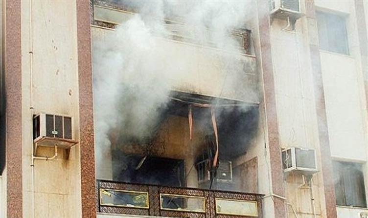 حريق في شقة بمدينة الزقازيق