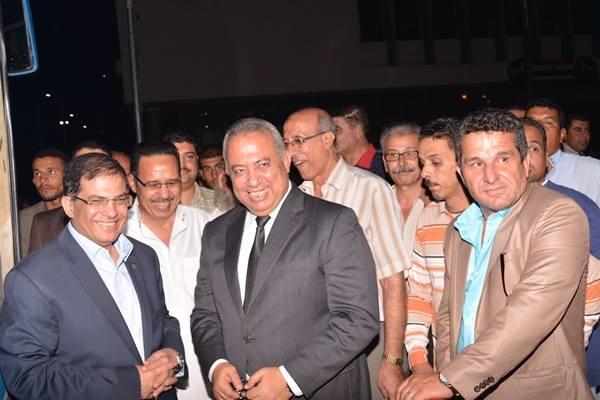 محافظ الشرقية يودع حجاج الجمعيات الأهلية ويطالبهم الدعاء لمصر114
