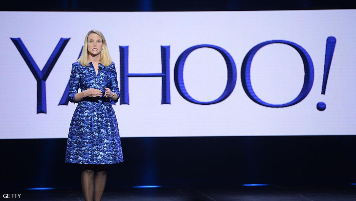 Yahoo CEO Marissa Mayer speaks during her keynote address at the 2014 International CES in Las Vegas, Nevada, January 7, 2014. AFP PHOTO / ROBYN BECK (Photo credit should read ROBYN BECK/AFP/Getty Images)