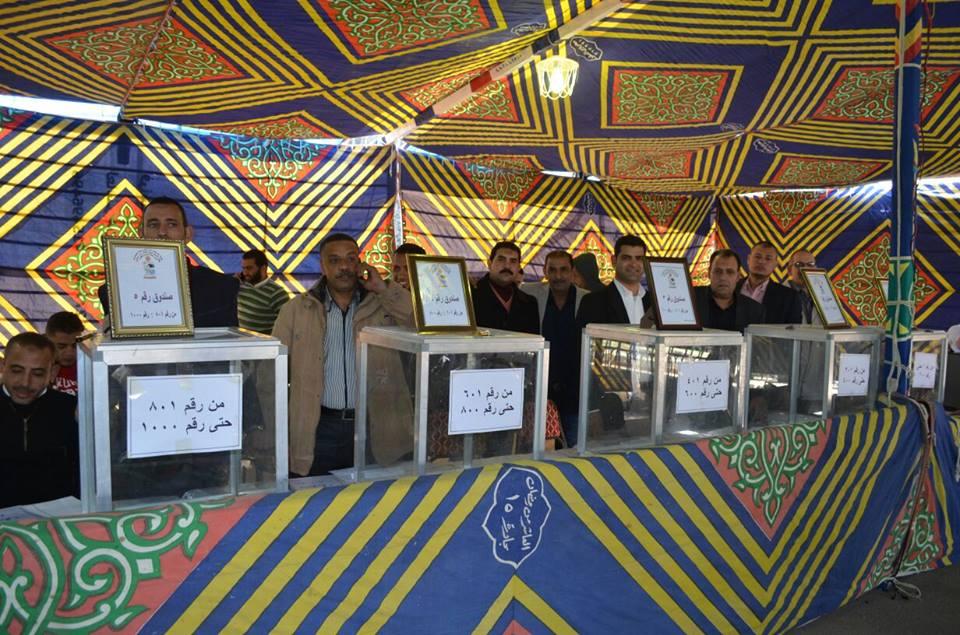 أسماء الفائزين بـ 500 قطعة أرض لمدافن المواطنين الأقباط بالعاشر من رمضان 1