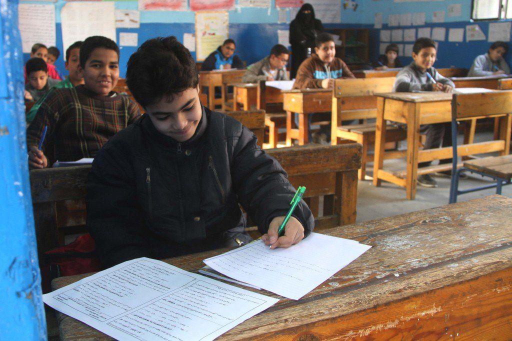 جدول امتحانات نصف العام للمرحلة الإبتدائية بالشرقية 145 1