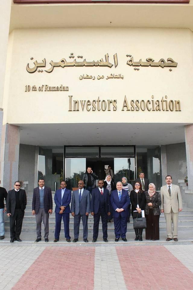 الصناعة الصومالى إقامة معرض دائم للمنتجات المصرية3