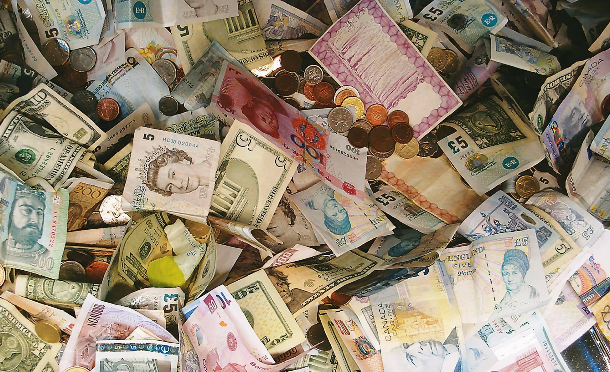 أسعار العملات الأجنبية والعربية