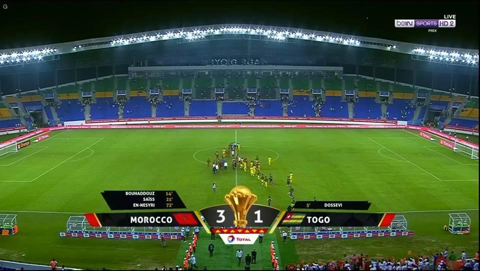 يحول الهزيمة إلي فوز في البطولة الإفريقية