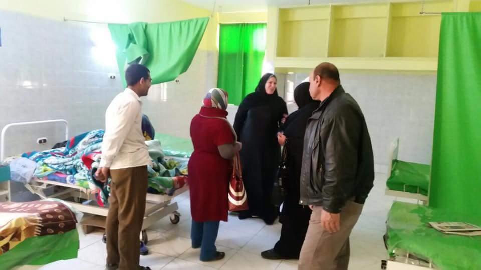 أبو العمرو» تتفقد المستشفى المركزي لمخاطبة وزارة الصحة لتوفير احتياجاتها 1
