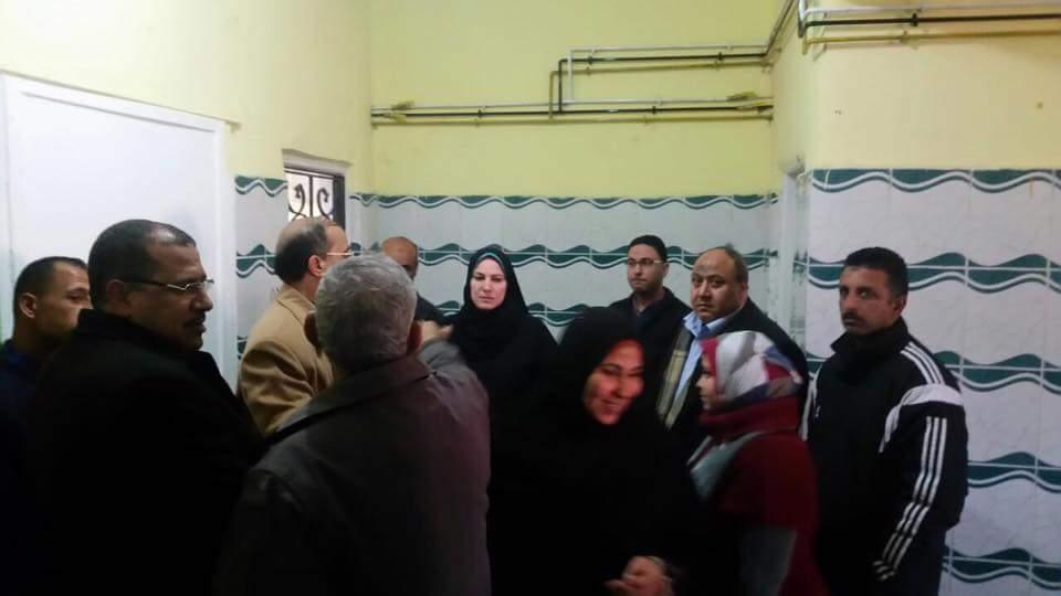 أبو العمرو» تتفقد المستشفى المركزي لمخاطبة وزارة الصحة لتوفير احتياجاتها 2