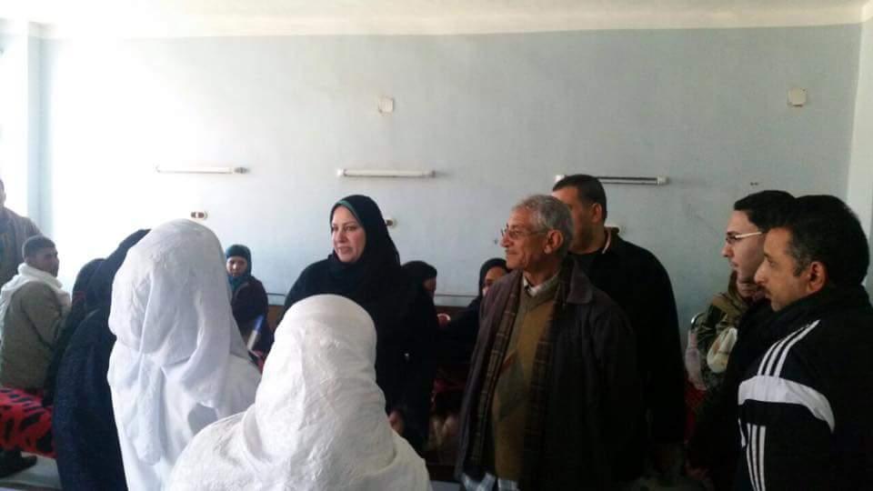 أبو العمرو» تتفقد المستشفى المركزي لمخاطبة وزارة الصحة لتوفير احتياجاتها 3