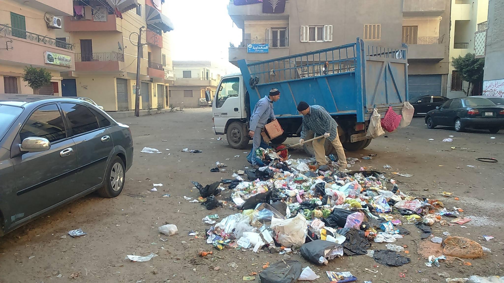 اعمال النظافة والمنتزهات بمدينة فاقوس 2