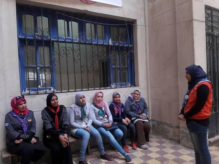 استمرار فعاليات البرنامج التدريبي بمركز شباب ناصر بالزقازيق3