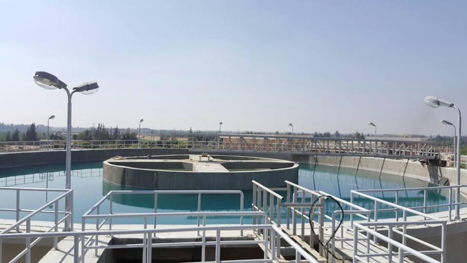 .. آخر تجهيزات محطة مياه فاقوس استعداداً لافتتاحها 5