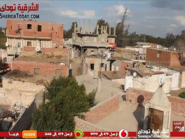 فلسطينية على الأراضي المصرية داخل محافظة الشرقية2