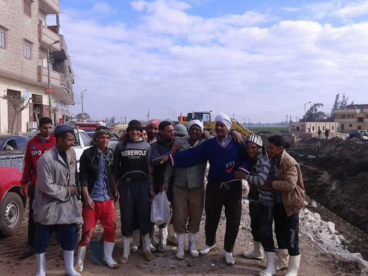 مدينة الحسينية يتفقد أعمال مشروع ازدواج «طريق الموت»3