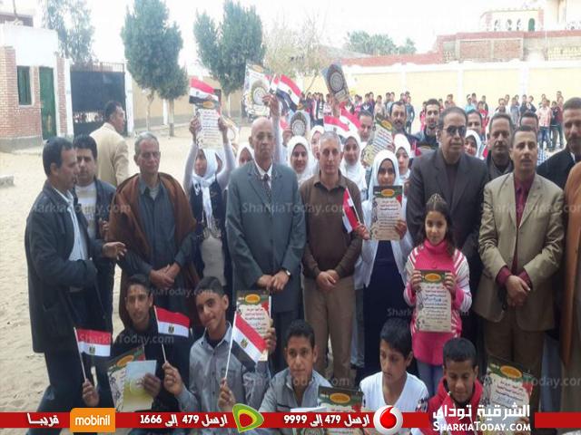 التعليمية» تكرم المتفوقين بمدرسة سعد سالم الإعدادية