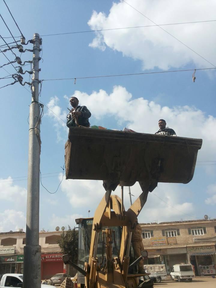 لافتات الدعاية من شوارع الحسينية 2