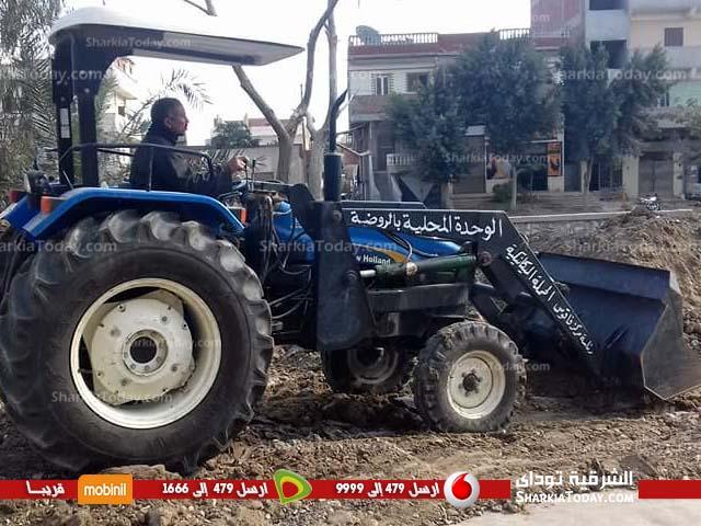 3 حالات تعدي على الأرض الزراعية بفاقوس 2