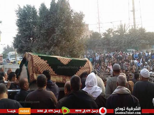 مهيبة لطالبة جامعة الزقازيق بعد مصرعها في حادث 1