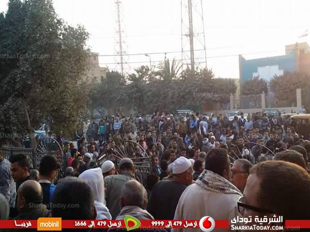 مهيبة لطالبة جامعة الزقازيق بعد مصرعها في حادث 2