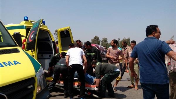 شخصان وإصابة 4 في حادث تصادم أليم بطريق الإسماعيلية